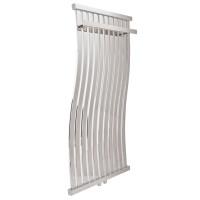 Дизайнерский водяной полотенцесушитель Laris Фрирайд П11 500х1000 хром из нержавеющей стали